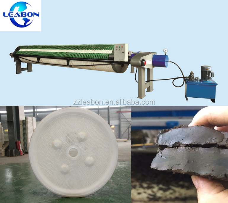 Small Used Oil Sludge Clay Membrane Filter Press Machine Price