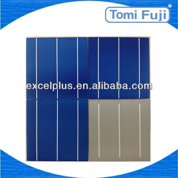 bulk sale high efficiency cheap price b grade 6x6 inch silicon solar cell made in Taiwan