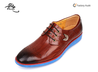 Leather upper eva outsole casual dress office working men leather new shoes