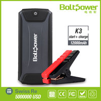 Boltpower Car Accessories Mobile Laptop Charge Battery 12V Power Booster Jump Starter