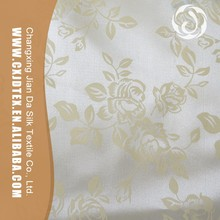 Great bag material cheap soft flower printed type of satin fabric