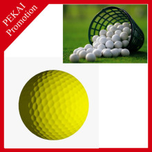 Promotional cheap custom bulk colored golf range balls