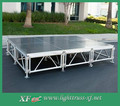 Not Slip Aluminum Plywood Portable Stage For Outdoor Indoor Concert