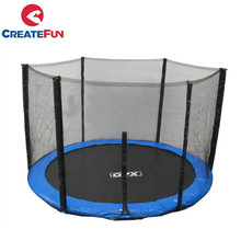CreateFun Trampoline Replacement Part Safety Net for 6 Poles(6ft,8ft,10ft)