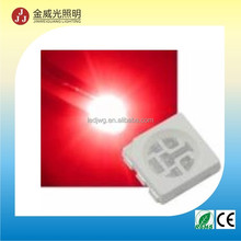 Hot sell Manufacture 5050 660nm ir red smd led with ROHS