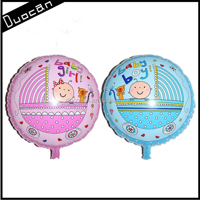 colourful 18inch custom round shape helium foil balloons wholesale
