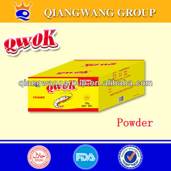 QWOK HALAL CHICKEN/BEEF/ SHRIMP/FISH SOUP POWDER BOUILLON POWDER SPICES POWDER