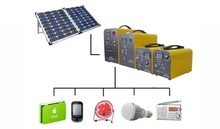 1KW to 10KW home solar system solution hybird solar inverter all-in-one lithium battery portable 40 amp camping