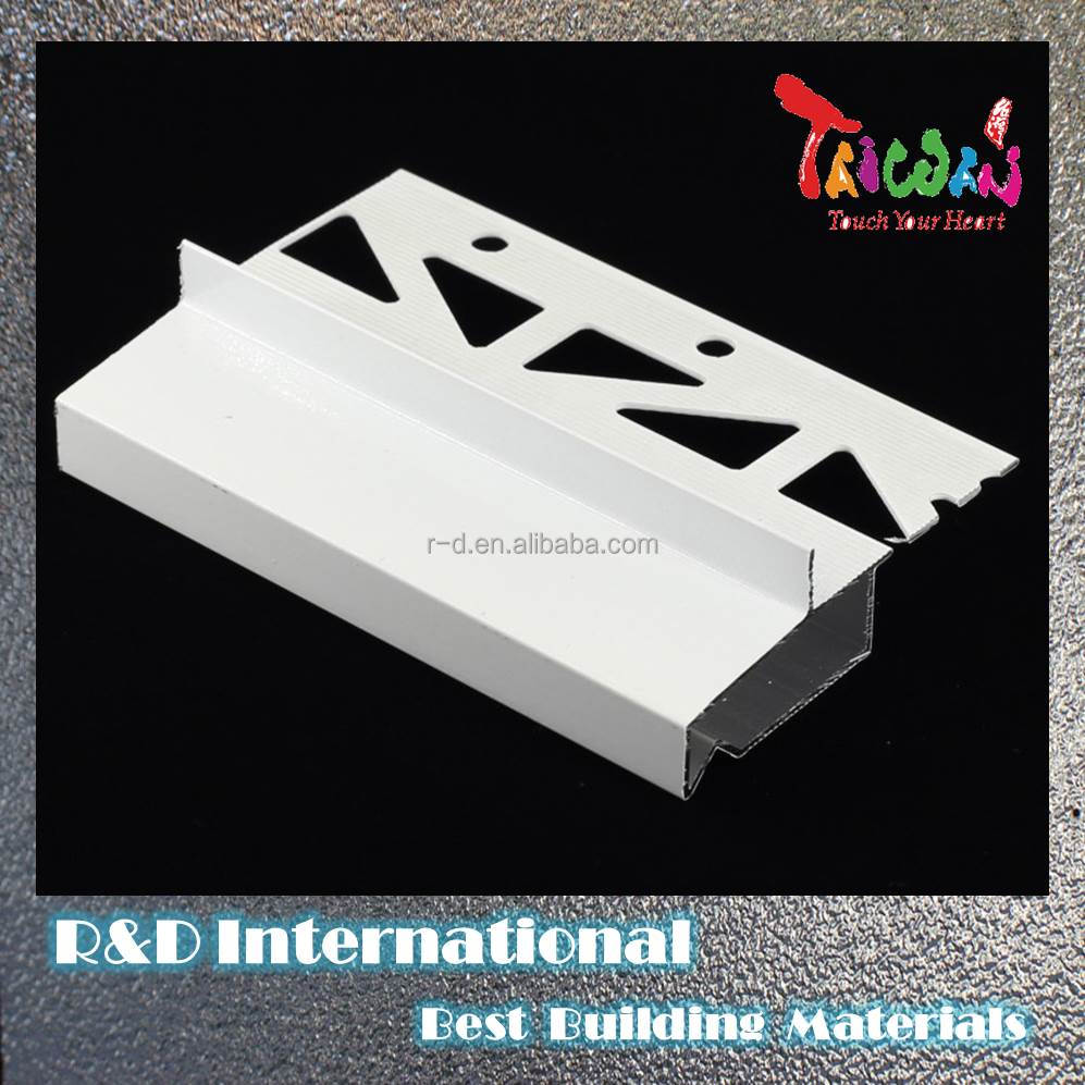 Taiwan Metal Roof Coping Aluminum Free Sample Tile Trim