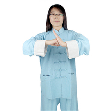 Kung fu uniform cotton and linen uniforms de wushu