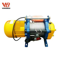 110V 220V lifting accessories electric cable pulley winch mechanism with high speed and heavy duty