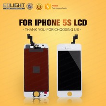 Hot sale item low cost touch screen mobile phone lcd for iphone 5s lcd with high quality