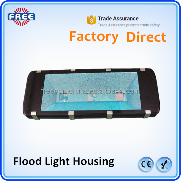 led outdoor lighting aluminum led flood light housing 60w, cob led flood light housing IP65