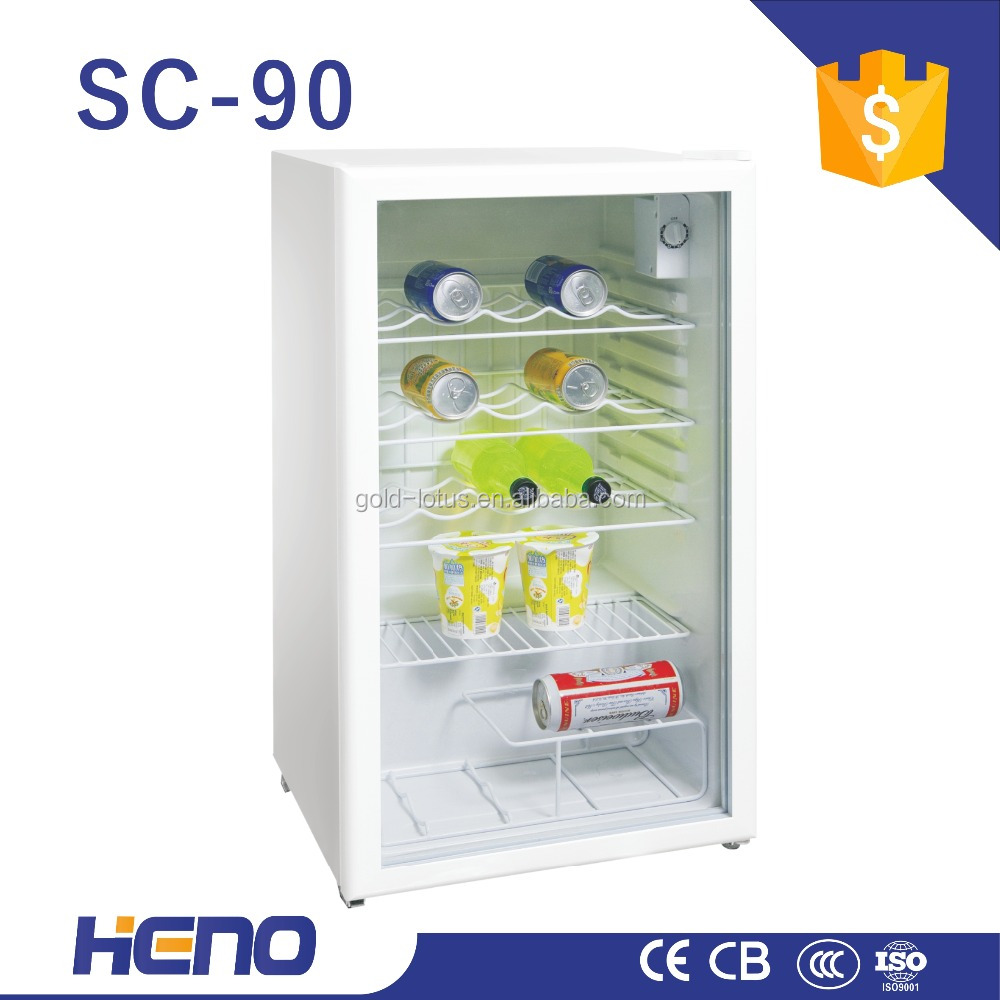 small showcase refrigerators