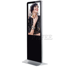 Digital signage advertising stand alone 55 inch pos touch screen computer wifi interactive kiosk