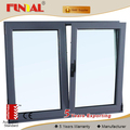 Factory custom aluminum swing window with mosquito screen