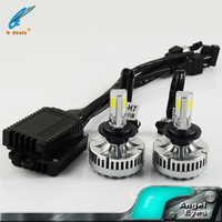 Factory cheap E-mark 40w 3600ml led motorcycle h7 led headlight