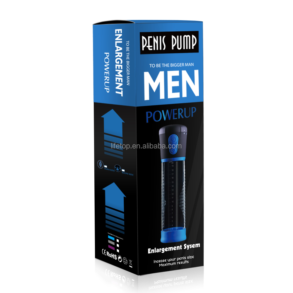 Electric male sex toys penis extender penis pump enlargement