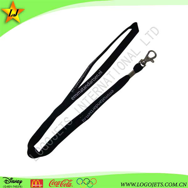 best selling customized lanyard polyester/ tube/ woven /heat transfer printing