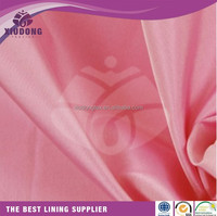 100%polyester 190T imitated silk printed taffeta soft fabric for garment