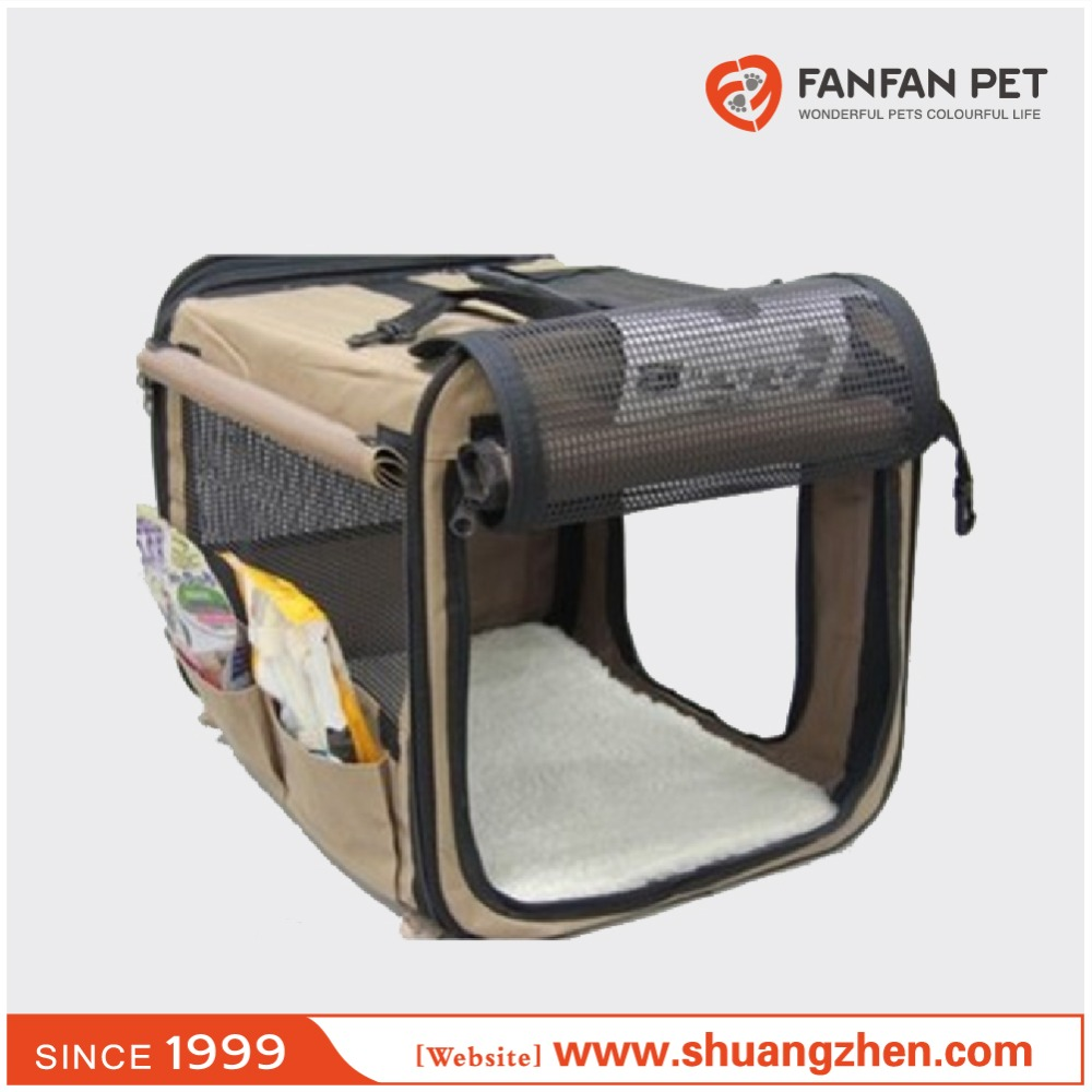 Portable Foldable Pet Dog House Soft Crate Carrier Cage Kennel Free Carry