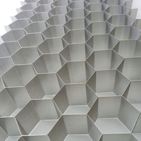 Aluminum honeycomb core material used for composite board