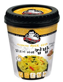 [Mr.Park] Korean Instant Cup Rice- Chicken Curry-3 min.