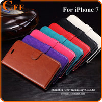 2016 New Full Protect Multi-function Flip Cover for iPhone 7 Wallet Stand PU Leather Case for iPhone 7