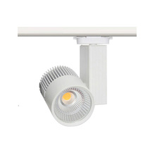 High CRI 35W Dimmable Track Lighting Connectors 3 Phase LED Track Lighting for Barber Shop