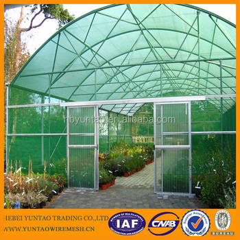 Shipped to Spain HDPE agriculture sun shade net