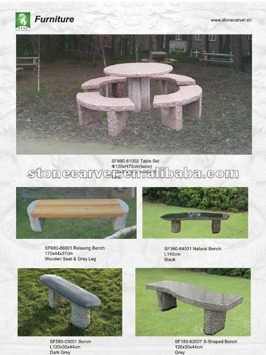 Garden S Shaped Stone Bench View Stone Bench Stone Carver Stone