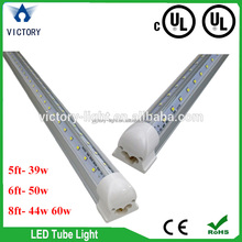 24w v shape led bulb, UL CUL t8 led tube 6500k daylight led cooler light