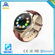 Bluetooth Smart Watch Clock Sync Notifier With Sim Card Bluetooth Connectivity For ios and android smart watch gt08
