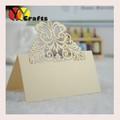 Cut-out Wedding Birthday Christmas Table Decoration Place Name Cards