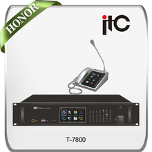 T-7800 IP Audio Paging System Paging Console Remote PA system