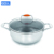 stainless steel pots and pans set fry pan korea of stock pot liner