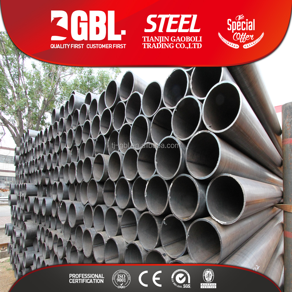 hot rolled hollow section welded steel tube mild steel pipe