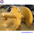 Drilling machineConstruction Machine Excavator drilling Auger, Double start double flight rock auger