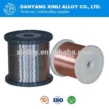 Stable resistance CuNi1 wire electric