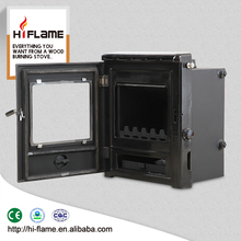 High quality Cast iron wood burning fireplace stove with water jacket