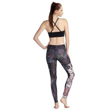 yoga wear sportswear, sexy womens printed yoga pants