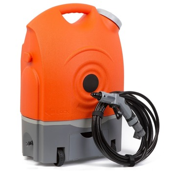 Totachi, Rechargeable portable car wash system with water tank, air conditioner cleaning machine, 9 bar steam cleaner