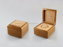 custom leather watch/jewelry box with hinge