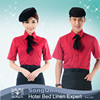 Custom Made Hotel Restaurant Staff Uniform And Restaurant Waiter Uniform