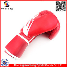 Professional custom logo printed boxing gloves