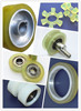 Urethane Wheel with Metal Core/sliding door wheel/pu conveyor roller