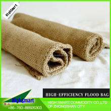 water absorbent deluge sandbag, water control bag, flood against sandbag