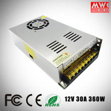S-360-12 12v 30a 360w led driver switching power supply From China factory