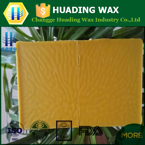 High quality pure leather beeswax