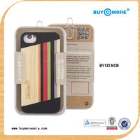 Alibaba China New Products Wood Mobile Phone Case for iPhone 5 5s